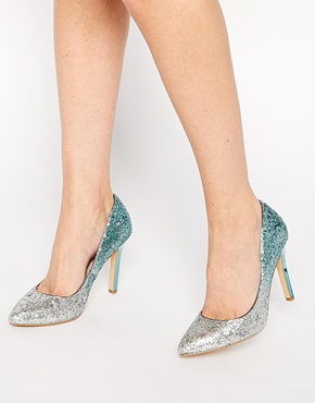 Asos glitter shoes