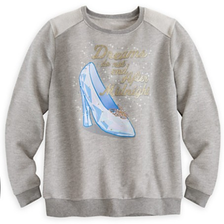 Walt Disney sweatshirt, available at Disney's stores