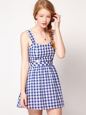 Asos vichy dress
