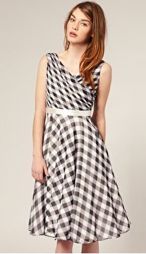 vichy dress