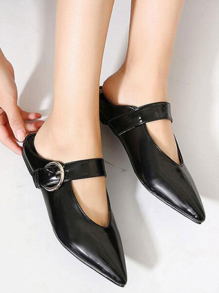 Choies_black_mules
