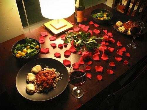 ideas-cena-romantic