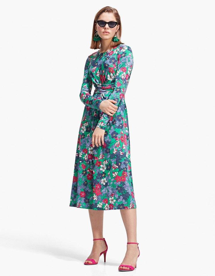 long_green_dress