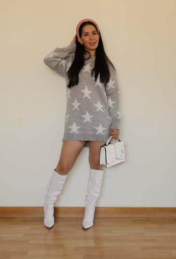 Vestido estrellas SheIn